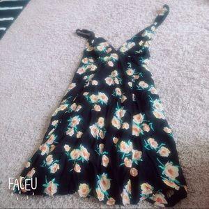 Urban outfitter Black motif dress